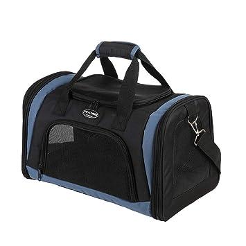 ADGAI Chihuahua Pizza Dog Canvas Travel Weekender Bag,Fashion Custom Lightweight Large Capacity Portable Luggage Bag,Suitcase Trolley Bag