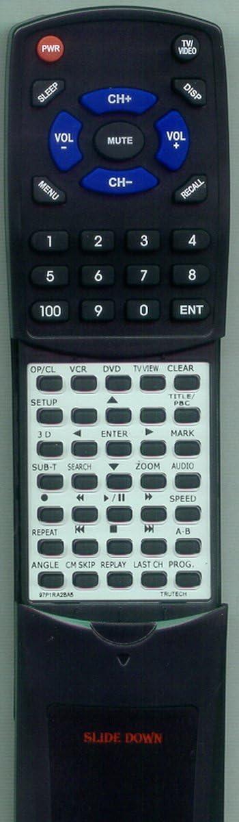 Replacement Remote Control for TRUTECH DV4TS05 97P1RA2BA5