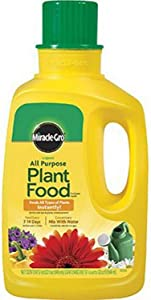 Miracle-Gro 1001502 All Purpose Liquid Plant Food Concentrate, 32 Ounce