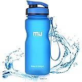 MIU COLOR Sports Water Bottle Flip Top Lid 600ML 1000ML Tritan Plastic Flask