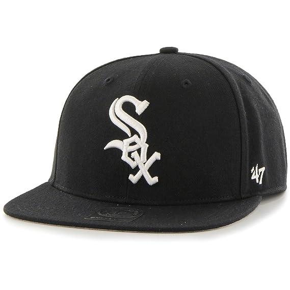 regard détaillé 06293 43f9b Casquette No Shot White Sox 47 Brand casquette casquette ...