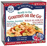 St. Dalfour French Bistro (Gourmet On The Go), Ready to Eat  Wild Pink Salmon, 6.2-Ounce Tins (Pack of 6)