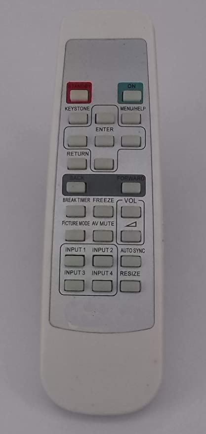Easy Replacement Remote Control for Sharp XR-32S XR-11XC PG-LX3500 XR-10S DLP Projector