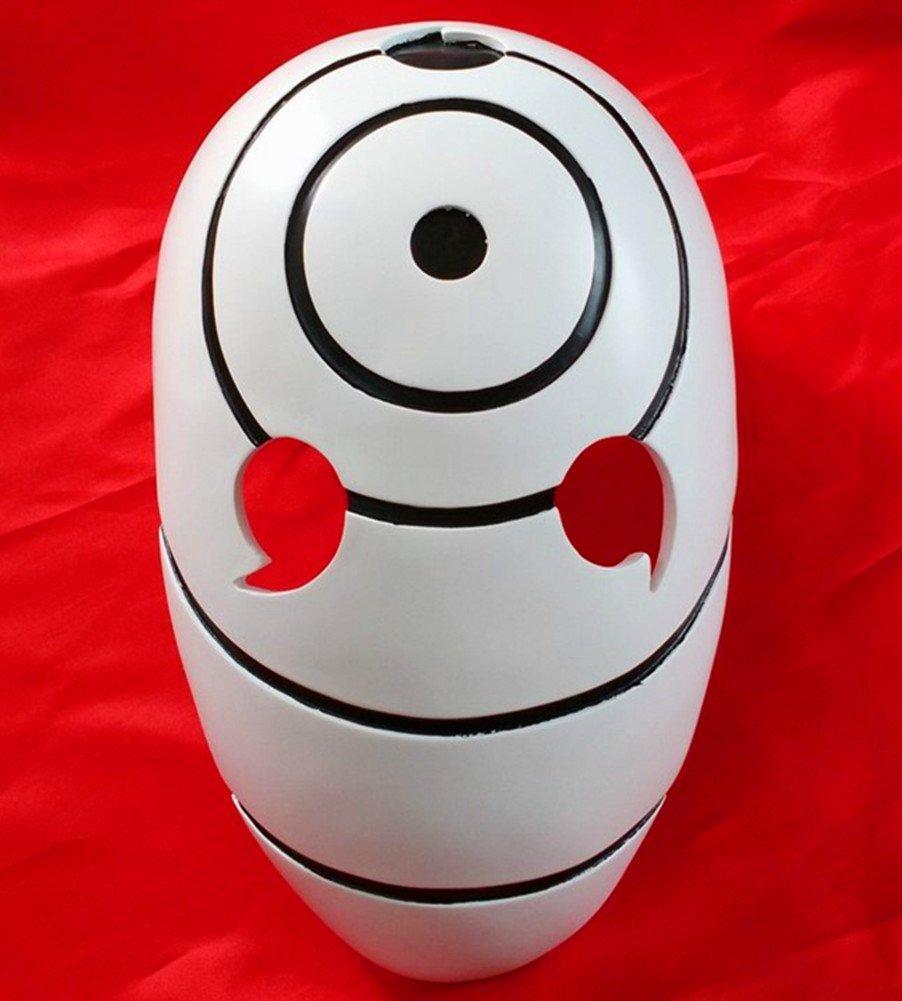 Gmasking resina Tobi Obito Naruto Uchiha Cosplay casco máscara + gmask llavero: Amazon.es: Juguetes y juegos