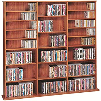 Leslie Dame CDV 1500CHY High Capacity Multimedia Cabinet, Cherry