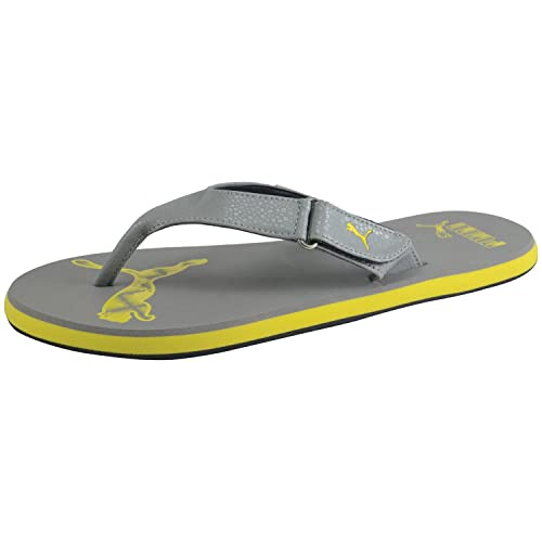 4a12fe82bc85 Puma Men s Breeze Ng Grey Flip Flops Thong Sandals-9 UK India (43 EU)  (36483604)  Buy Online at Low Prices in India - Amazon.in