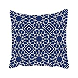 Sophia Emma Custom Islamic Geometric Pillow Case Home Decor Cotton Blended Pillowcase Cover