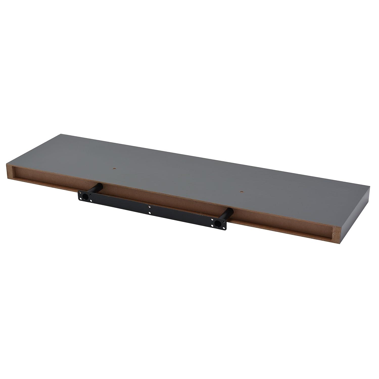 80 x 23 Gris Bois 80 cm DURAline Shelving Tablette Xl4 /à Fixation Invisible 50 x 3