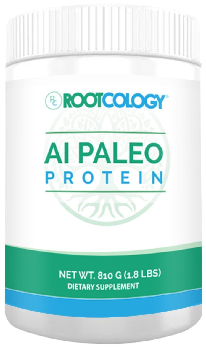 Rootcology AI Paleo Protein - Beef Protein Powder, 810 Grams, by Izabella Wentz Author of The Hashimoto's Protocol