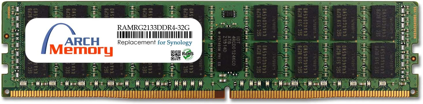 Arch Memory Replacement for Synology RAMRG2133DDR4-32G 32 GB DDR4-2133 PC4-17000 288-Pin ECC RDIMM RAM for FS2017