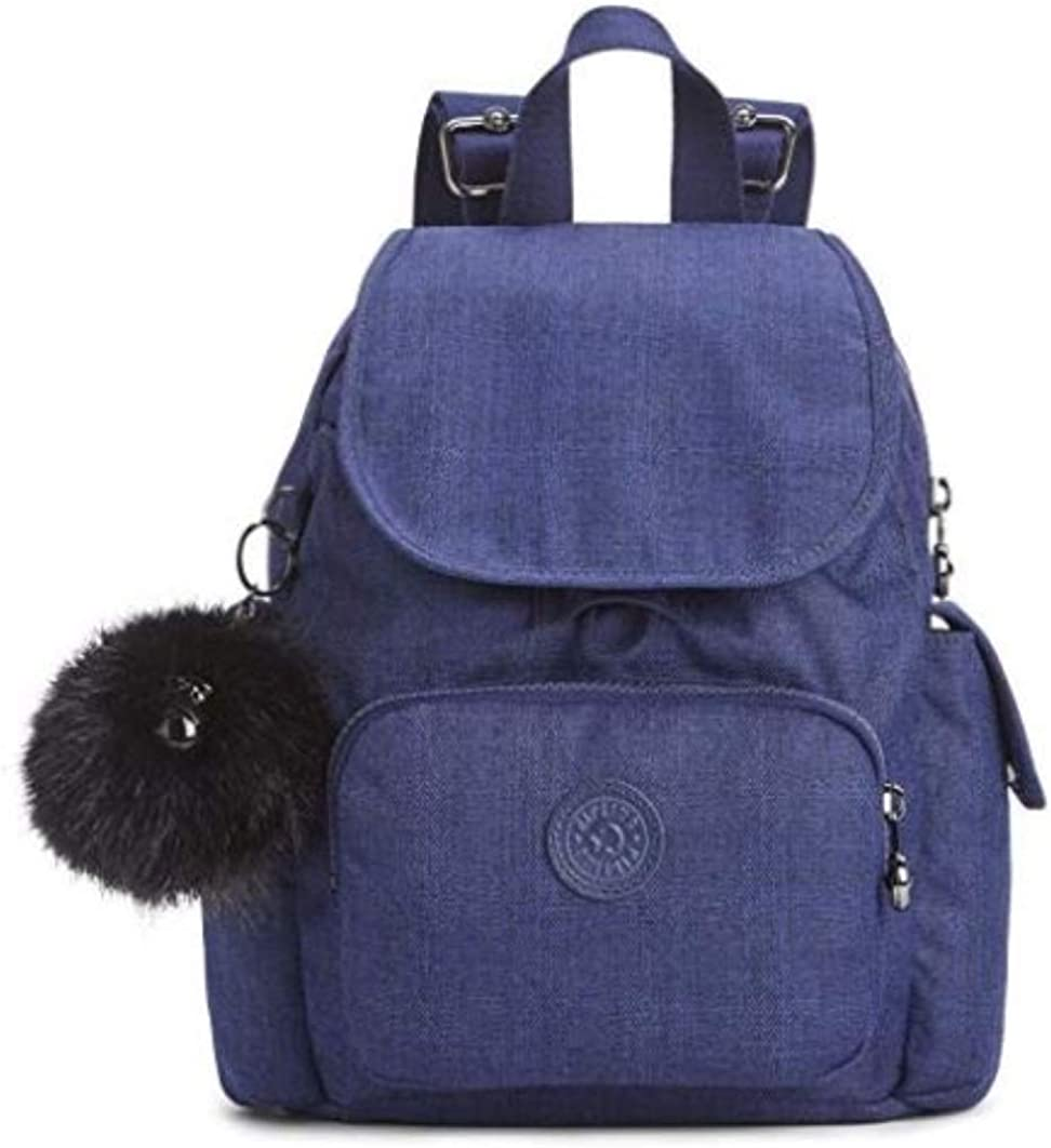 Surichinmoi estafa referencia  Amazon.com: Kipling City Pack S Mini Backpack Cotton Indigo: Shoes