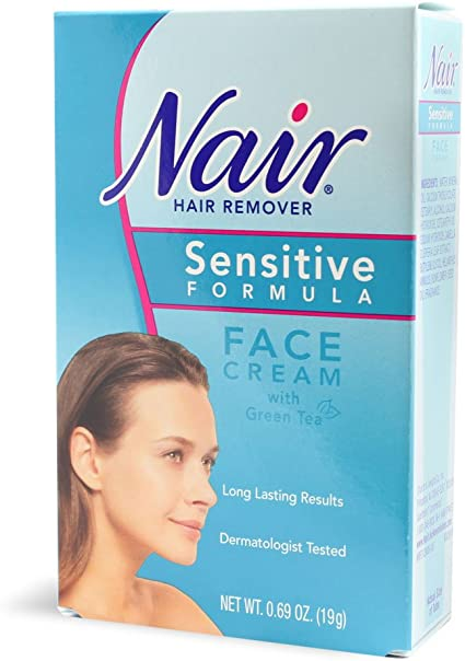 Amazon Com Nair Sensitive Formula Face Cream With Green Tea