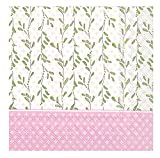 Ideal Home Range L707659 Rosanne Beck 20 Count Paper Luncheon Napkins, Pink Baby Carriage