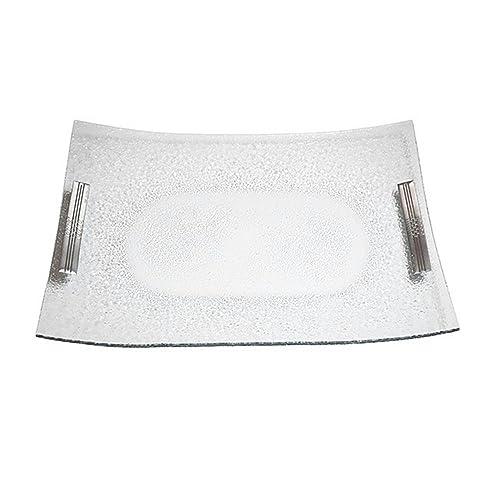 Bandeja plata cristal [4139]
