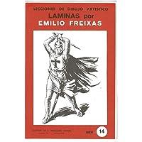 Lecciones de Dibujo Artístico. Láminas por Emilio Freixas Serie 14