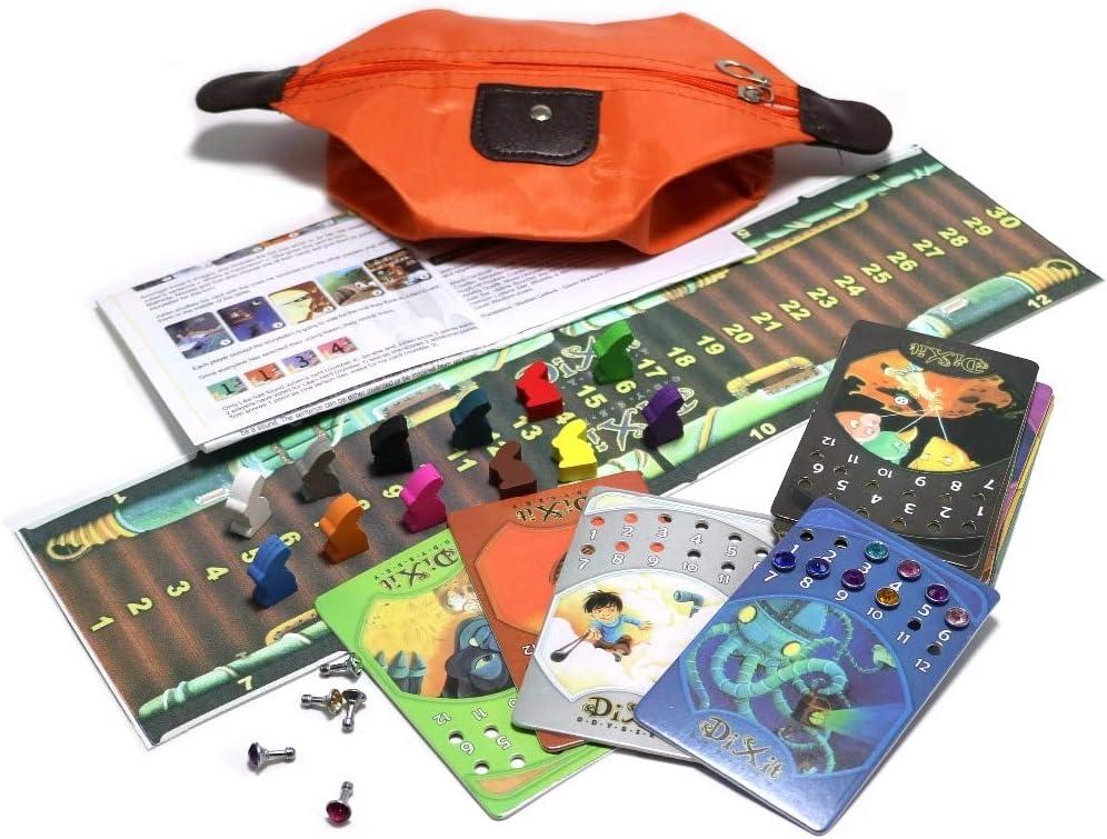 FPTSHOPS 2019 Dixit Accesorios para Tarjeta de Dixit para 12 Jugadores Conejo Votación Tarjetas Jugar Campo Inglés Ruso Reglas No Tarjetas: Amazon.es: Jardín