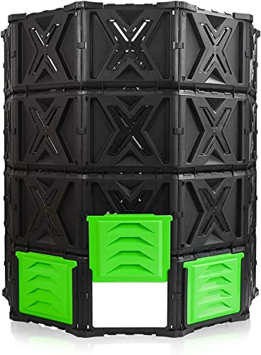 SQUEEZE master XXL Large Compost Bin Outdoor