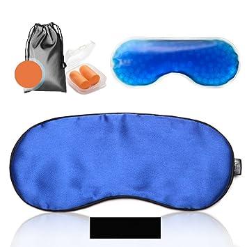 MM Máscara de Hielo Fría y Caliente Ojo Dormir Bolsa de Hielo Dormir con Almuerzo sombreado