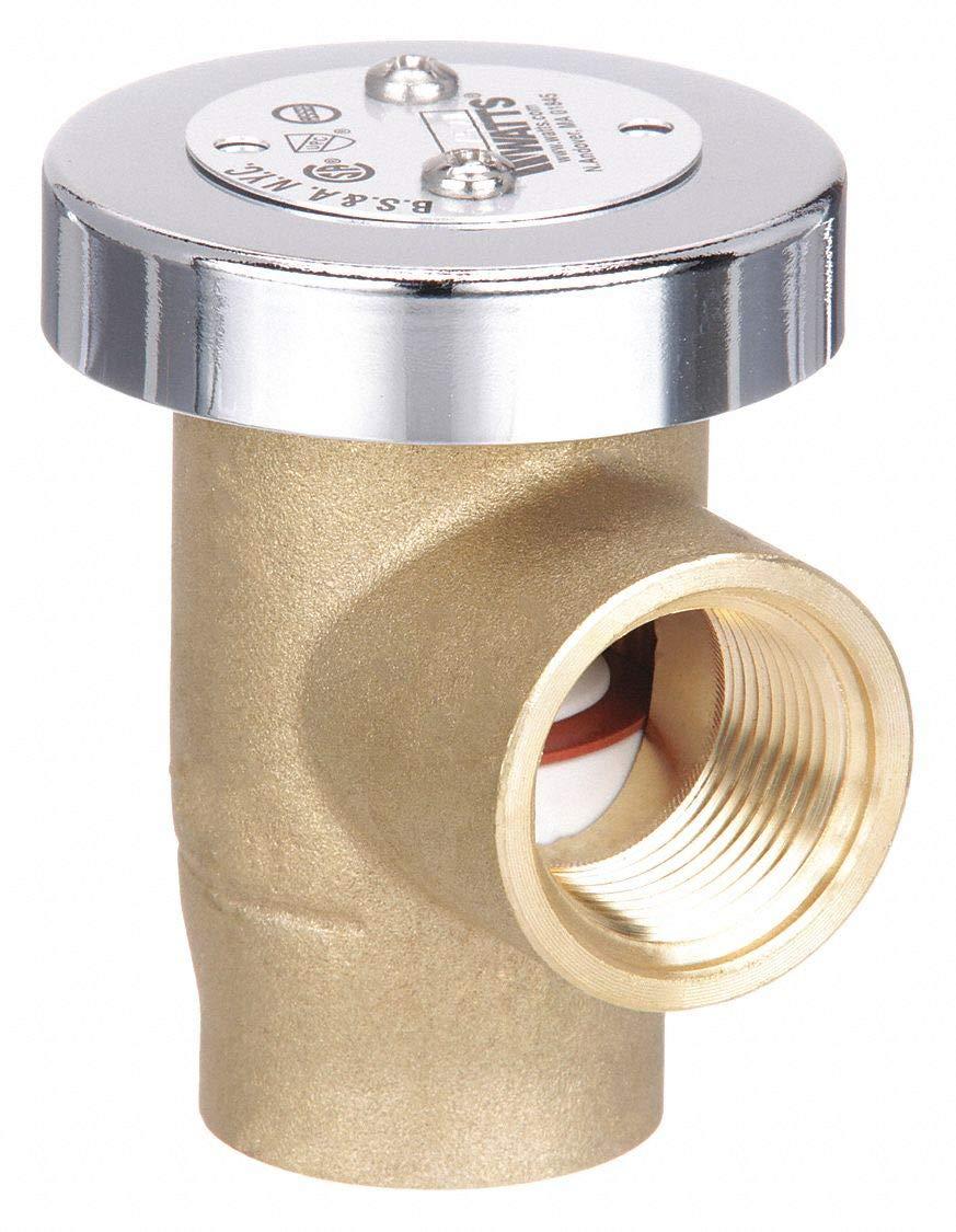 "WATTS REGULATOR Company Vacuum Breaker Chrome-Plated Brass LF288A-3/4"""