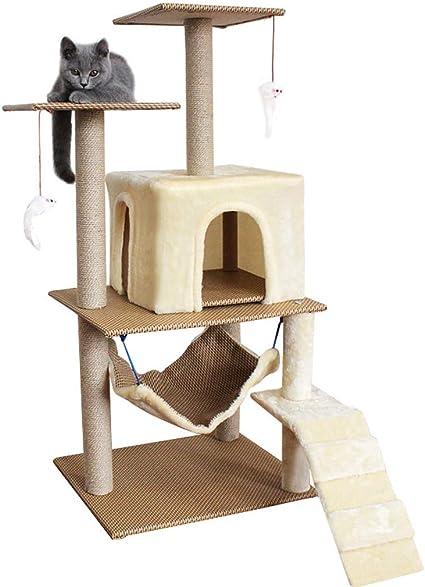 Moolo Árbol de Gato Estructura de Escalada para Gatos, sisal ...
