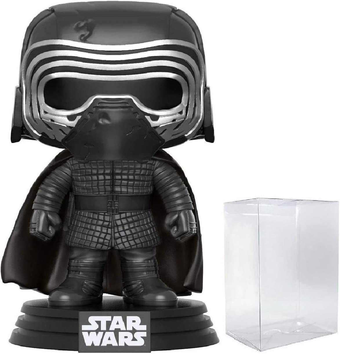 Funko Pop Star Wars: The Last Jedi - Masked Kylo Ren Vinyl Figure (Includes Compatible Pop Box Protector Case)