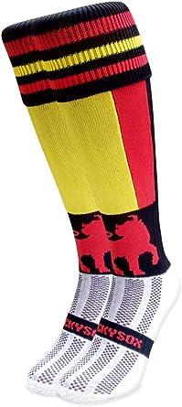 Wacky Sox - Calcetines cortos - para hombre Multicolor L: Amazon ...