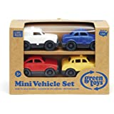Green Toys MVP1-1165 Mini Vehicle, 4-Pack