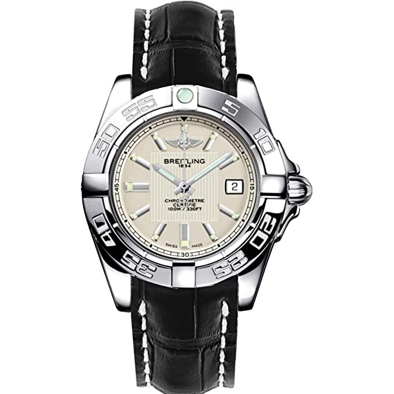 Breitling Galactic Reloj de mujer cuarzo 32mm correa de cuero A71356L2/G702LS