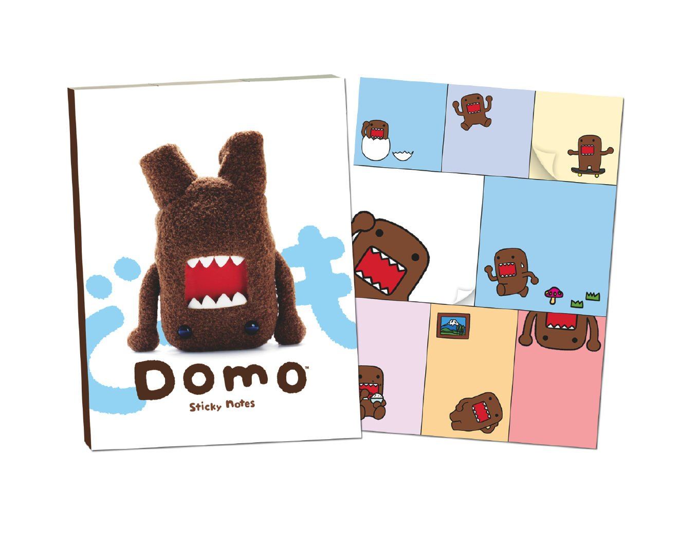 Domo Sticky Note book from Dark Horse