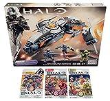 Mega Bloks Halo Bundle - Phaeton Gunship + Series 7, Series 8 & Series 9 Blind Bags (1 Pack of Each)