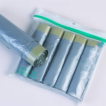 Bolsa de basura con cordón,50 * 60cm,30 bolsas* 1 rollo ...