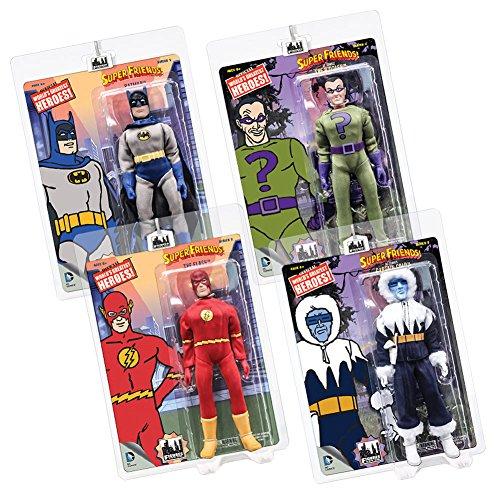 Super Friends Retro Action Figures Series 3: Set of all - Retro Flash