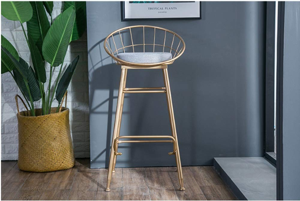 AO-stools Bar Chair Golden Home High Stool Bar Chair Size:95x75x48cm by AO (Image #4)