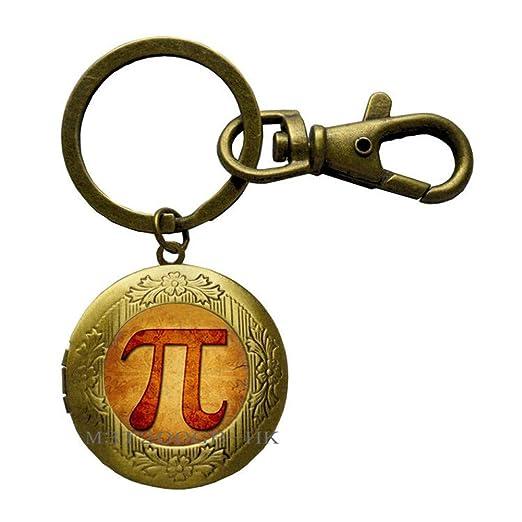 Llavero de Pi Key, llavero de matemáticas, regalo para el ...