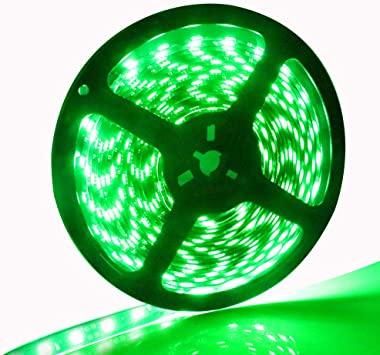 Green Boat Accent Light Waterproof LED Lighting Strip 300 5050 SMD LEDs 16 ft//5M