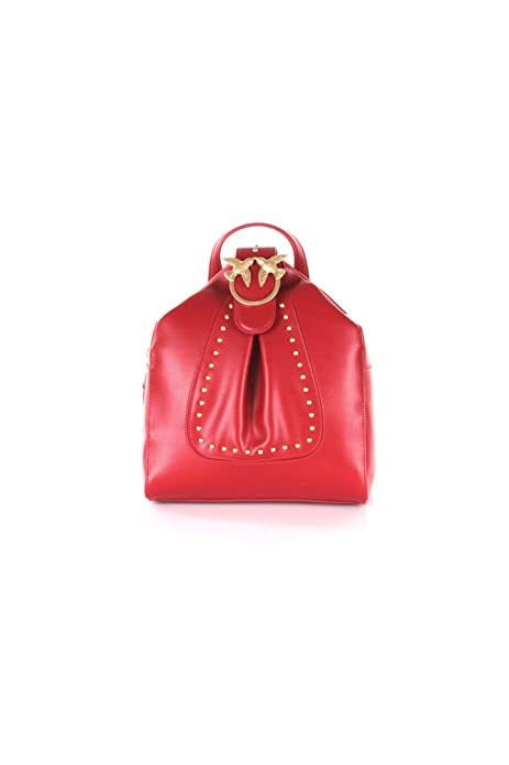 Pinko ALKAN BACKPACK MOCHILA Mujer Rosso UNI: Amazon.es: Ropa y accesorios
