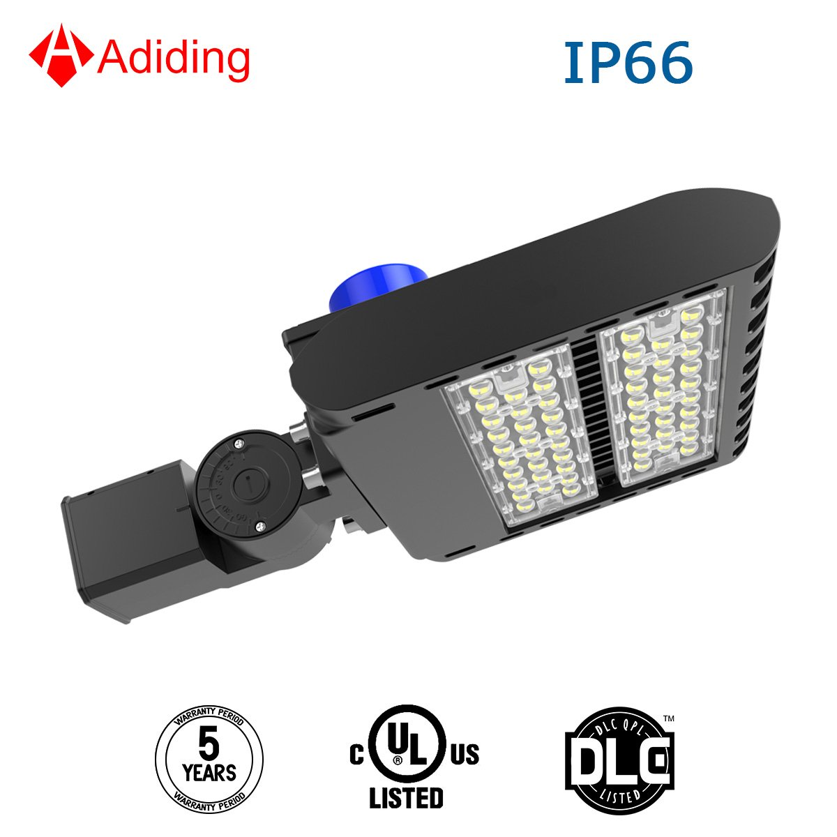 Led Parking Lot Light 100w Street Area Lumileds Smd 3030 Photocell Sensor Further Fluorescent Fixtures On Wiring Diagram 130 Lm W Daylight 5700k Bright White With Sensorshorting Circuit Cap