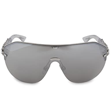 989c7a925 Image Unavailable. Image not available for. Color: Sunglasses Dolce &  Gabbana 2150B Silver Wrap