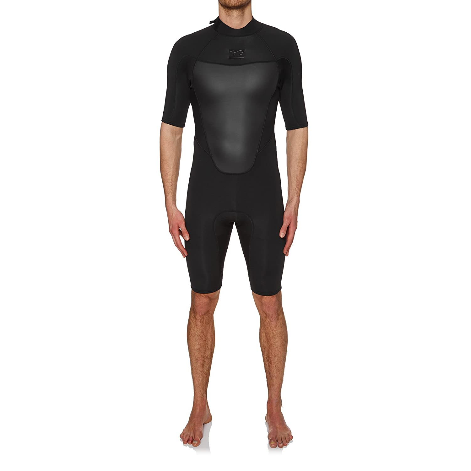 Amazon.com  Billabong 2mm 2018 Absolute Back Zip Short Sleeve Wetsuit Small  Black  Sports   Outdoors 896f5f7a4