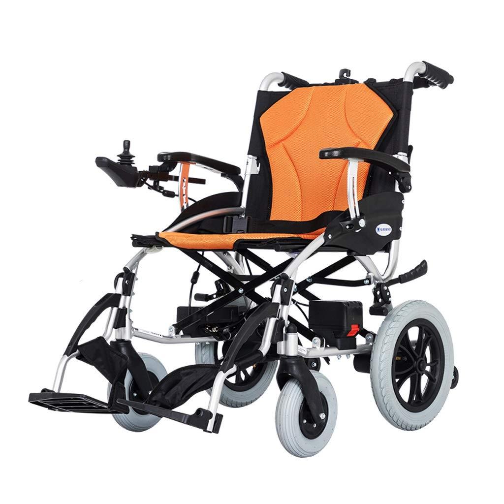 公式の  電動車椅子 (色 - 取り外し可能なリチウム電池の軽量の折りたたみ高齢者はアルミニウム取り外し可能なアームレストを無効に (色 : Orange) 電動車椅子 : Orange B07P81QRVB, SHOP ALWAYS:5f020f80 --- a0267596.xsph.ru