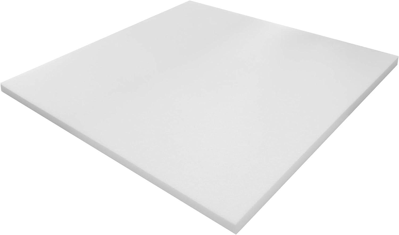 Grevinga Pur - Plancha de Espuma (100 x 100 x 2 cm, Blanda)