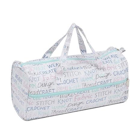 Hobby Gift MR4698\439 - Bolsa para Tejer (Mangos de Tela, 16 ...