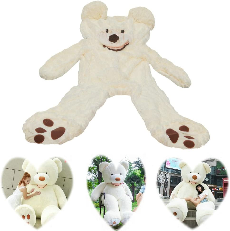 "78/""//200cm Giant Huge Big Purple Teddy Bear Plush No Filler Animal Soft Toy Gifts"