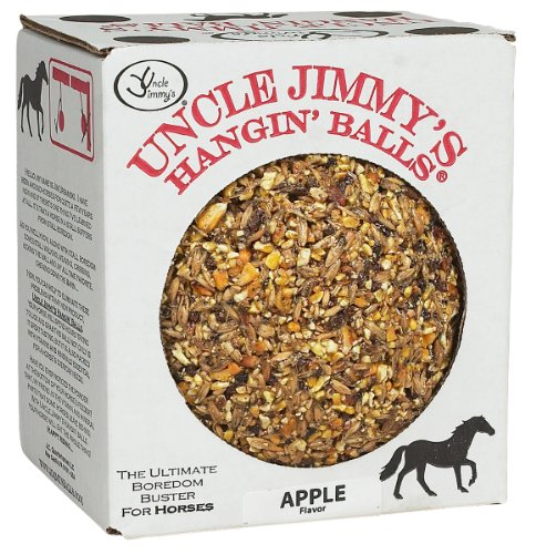 61 XNKibO6L - Uncle Jimmy's Hangin' Balls (choose from a range of flavours) - 1.59kg - great tasting and provides entertainment for your horse!