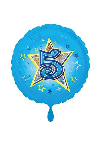 balloonisima - Globo XL - 5 cumpleaños con diseño de ...