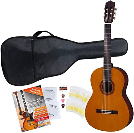 Yamaha CS40 Guitarra clásica (Incluye funda): Amazon.es ...