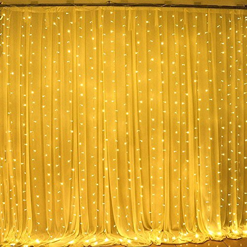 Black Led Light Curtain
