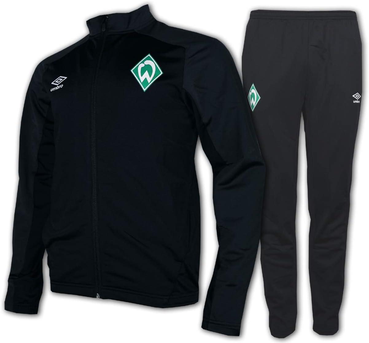 Umbro SV Werder Bremen - Chándal para Hombre, Color Negro y Gris ...