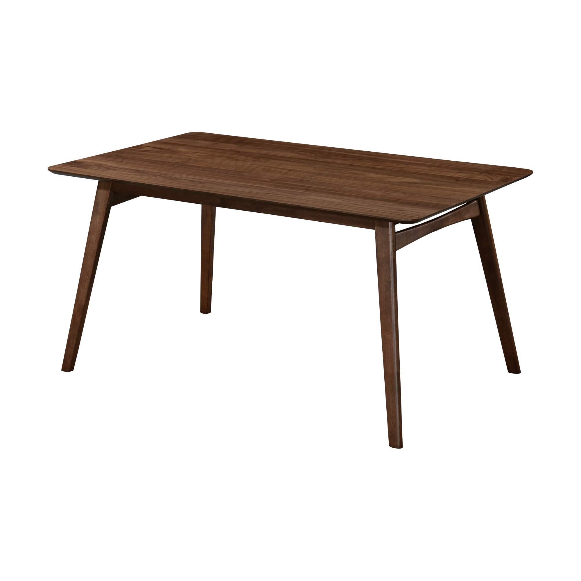 Artum Hill DI11-07 End Table with Plank-Style Top and Open Shelving, Brown