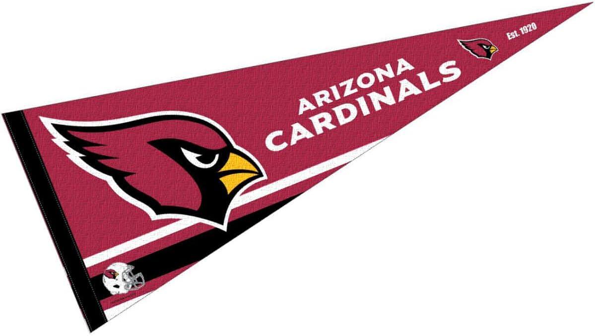 WinCraft Arizona Cardinals Pennant Banner Flag